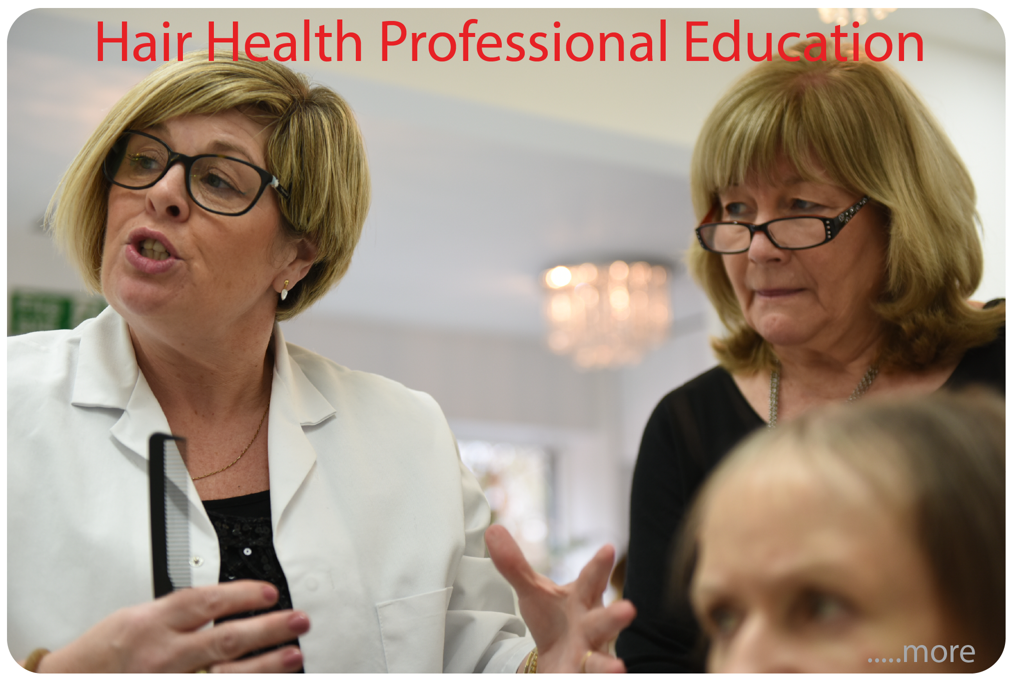 Eva Proudman MIT IAT Hair Health Professional Education